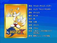 Sonic X karta 96