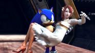 Sonic y Elise imagen