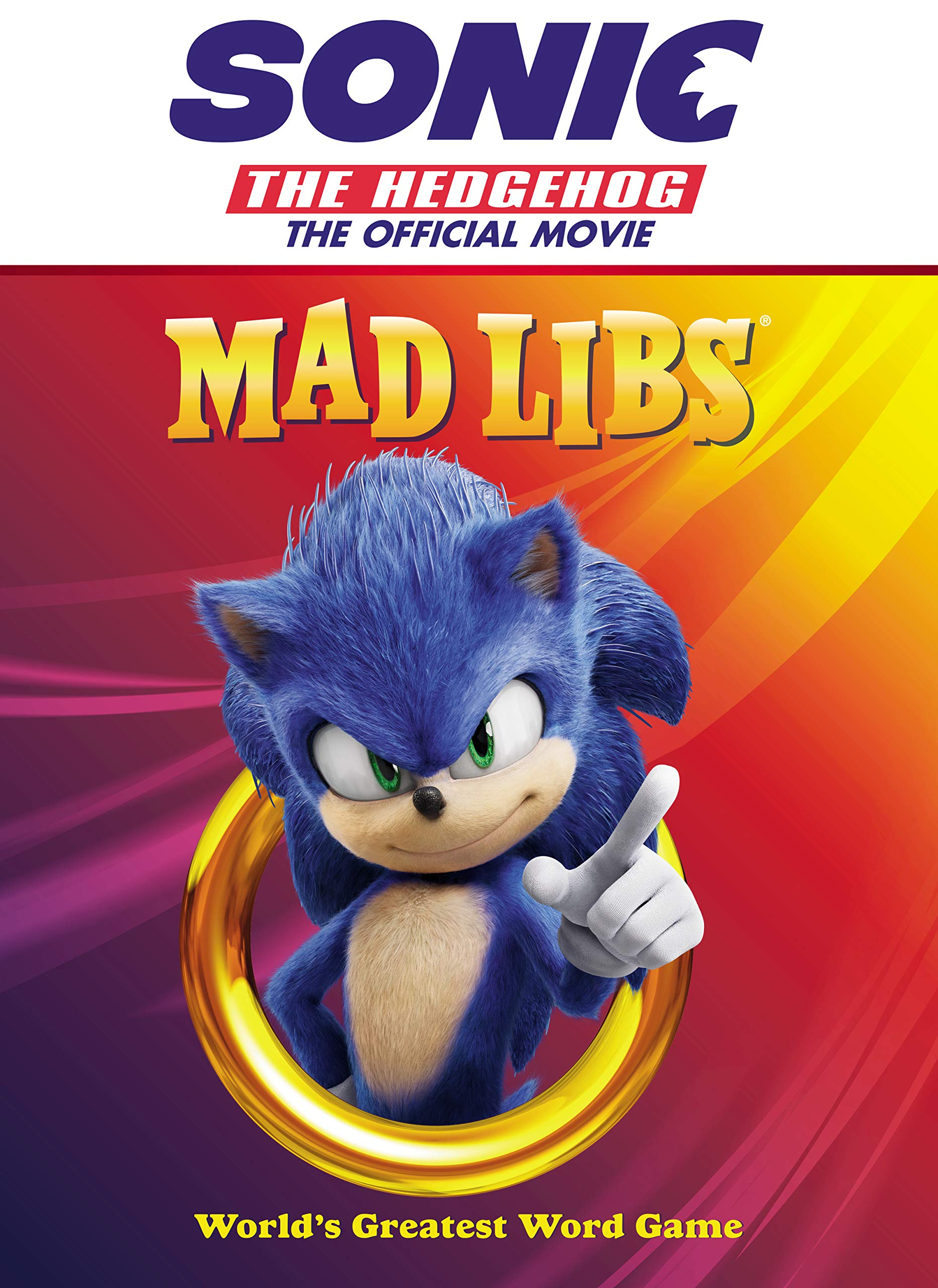 Sonic The Hedgehog The Official Movie Mad Libs Sonic News Network Fandom