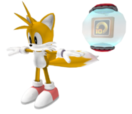 Sonic 06 Model Tails
