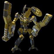 Sonic 06 egg gunner (yellow) 02