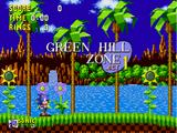 Green Hill Zone (16-bit)