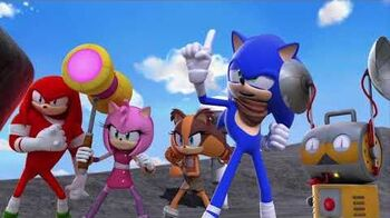 Sonic Boom Here Comes the Boom! COMING SOON TO DVD!