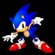 Sonic Jam Sonic big eyes