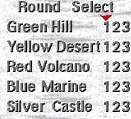 Blast Level Select