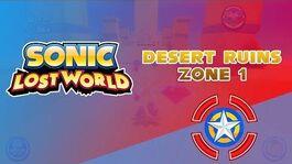 Desert Ruins Zone 1 - Sonic Lost World