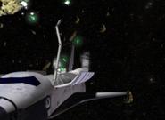 Emerald Shards en el espacio