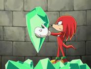 Knuckles i odłamek Master Emeralda ep 29