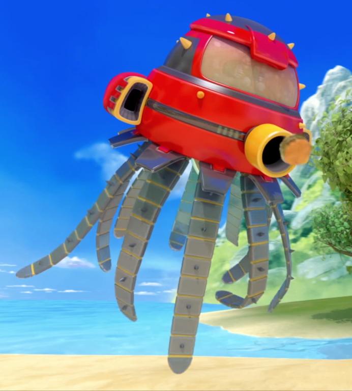 Octopus Bot Mirror Dimension Sonic News Network Fandom