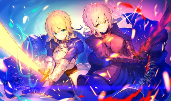 Saber and Alter Saber