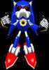 Sonic Rivals 2 - Metal Sonic model