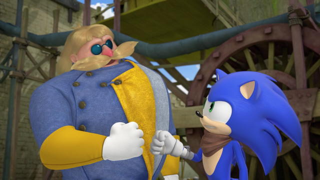 File:Steve and Sonic.png