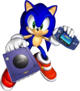 GBA i Dreamcast Sonic