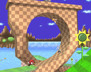Green Hill Zone Smash Brawl