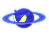 Indigo Asteroid