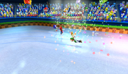 Mario Sonic Olympic Winter Games Gameplay 347