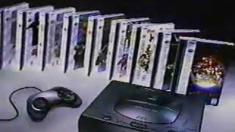 Sega Saturn VS Pretendo TV Commercial - Saturn VS N64 - Sega Saturn