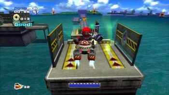 Sonic Adventure 2 (PS3) Weapons Bed Mission 3 A Rank