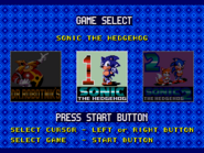 Sonic Compilation Select