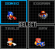 Sonic Drift Menu 2