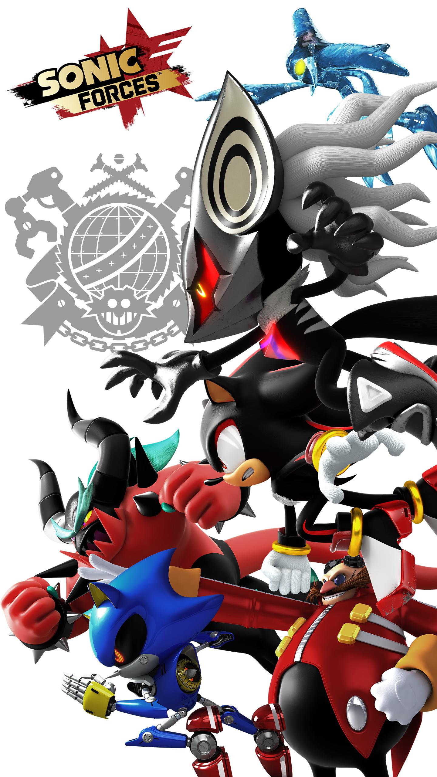 Image - Sonic Forces Vilains Wallpaper -1440x2560-.jpg ...