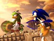 Sonic y Jet