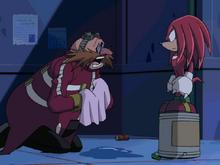 Eggman i Knux w Sonic X