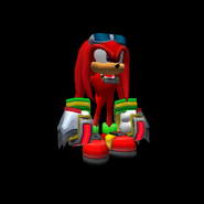 SonicAdventure2Battle KnucklesModel