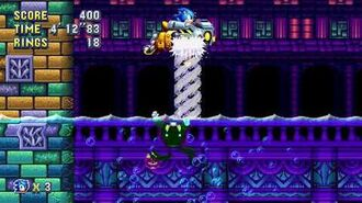 Sonic Mania Boss 13 - Diving Eggman