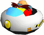 Sonic R - Eggman Egg Mobile