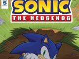 IDW Sonic the Hedgehog N° 005