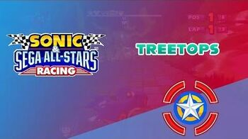 Treetops - Sonic & Sega All-Stars Racing