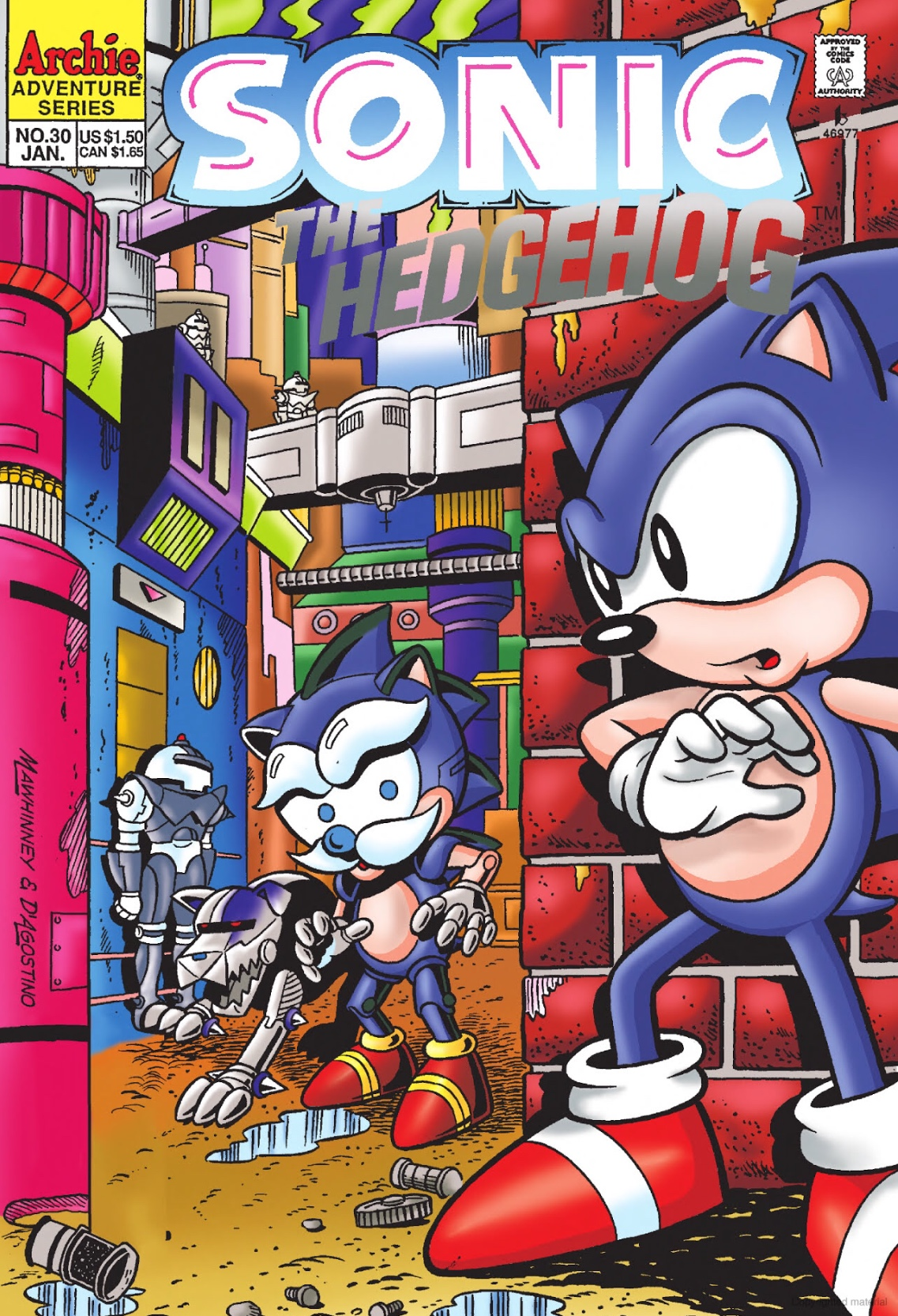 Archie Sonic The Hedgehog Issue 30 Sonic News Network Fandom
