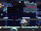 Metal Sonic and Egg Mobile