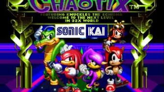 Knuckles' Chaotix Music Electoria ~ Techno Tower