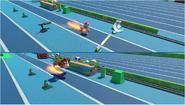 Mario & Sonic at the Rio 2016 Olympic Games - Amy VS Donkey Kong Triple Jump