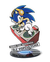 Sonic DJ Pop Cultcha stand