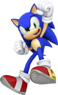 Sonic Modern Style Guide 3D Sonic yahoo