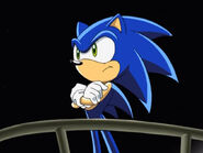 Sonic being so disgusted