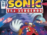 IDW Sonic the Hedgehog N° 023