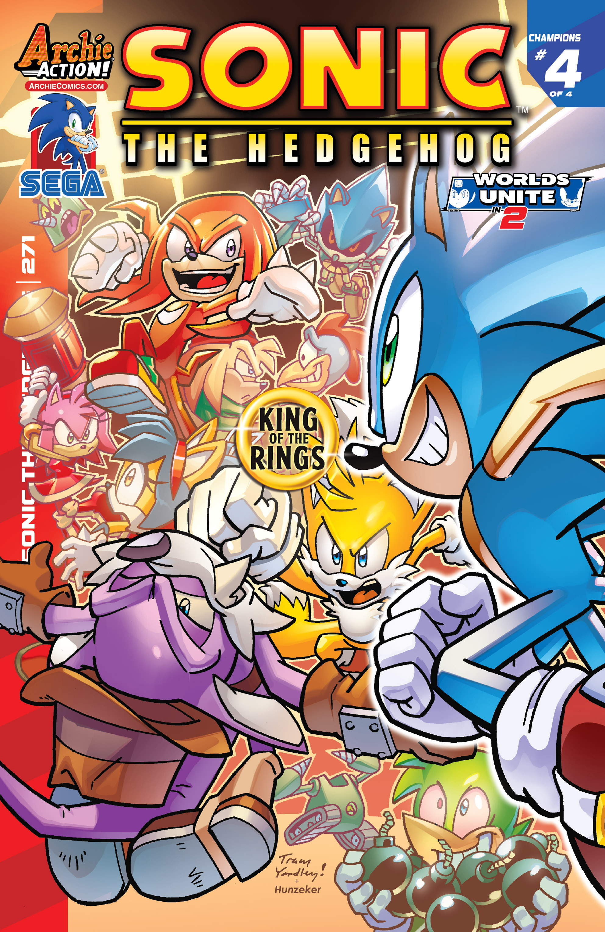 archie sonic the hedgehog issue 271 sonic news network fandom