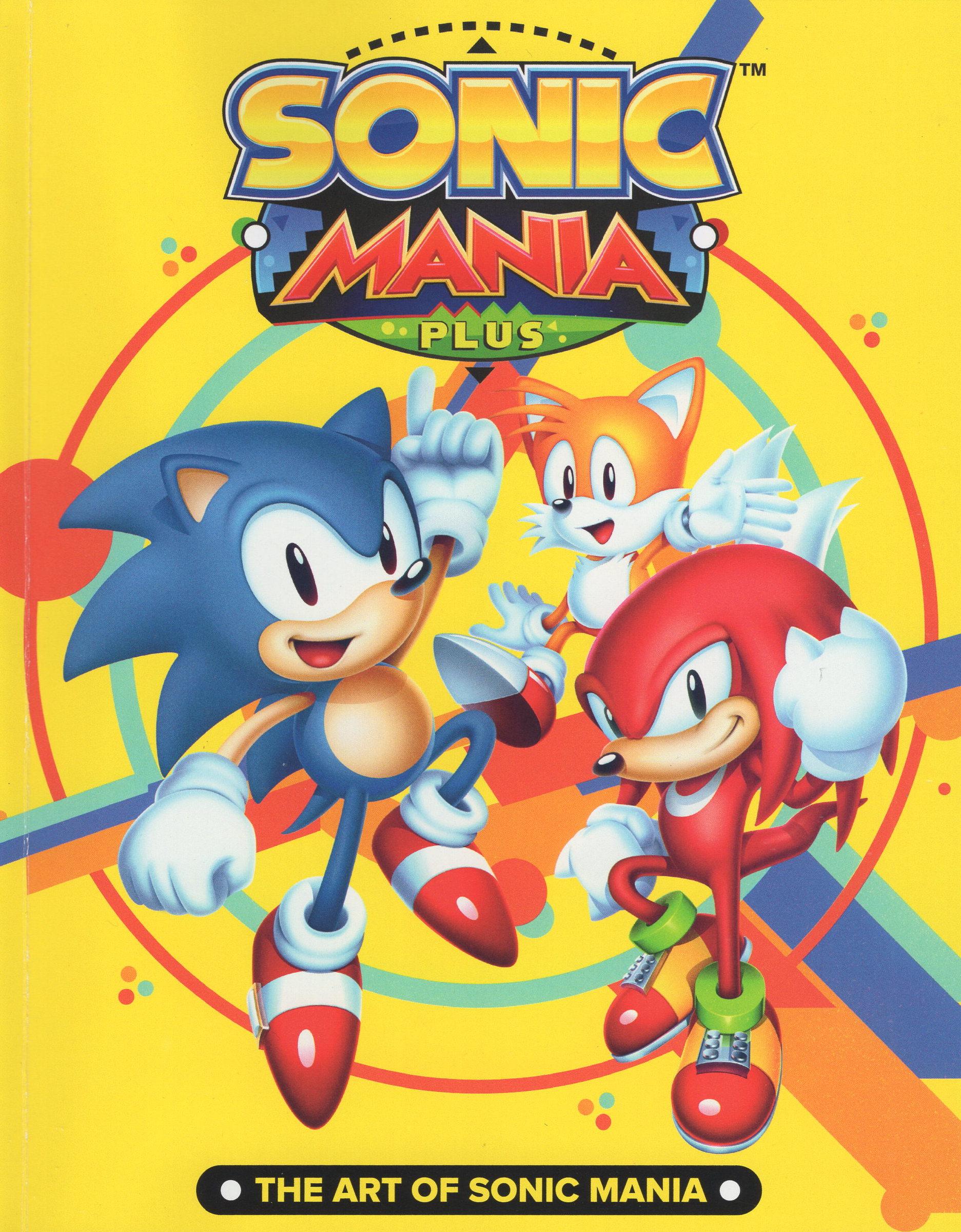The Art Of Sonic Mania Sonic News Network Fandom