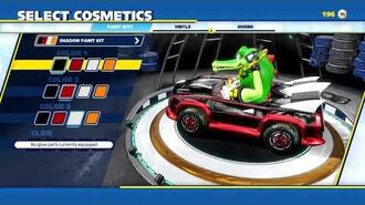Team Sonic Racing Customization Trailer