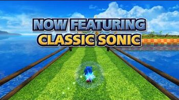 Classic Sonic Joins Sonic Dash!