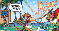 Old Monkey vs Eggman