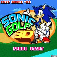 Sonic Golf 1