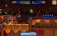 Lava Mountain (Sonic Runners) - Screenshot 2