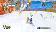 Mario Sonic Olympic Winter Games Gameplay 205