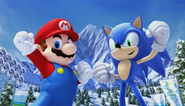 Mario Sonic Olympic Winter Games Opening 77