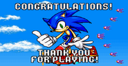 Sonic Advance ending normal